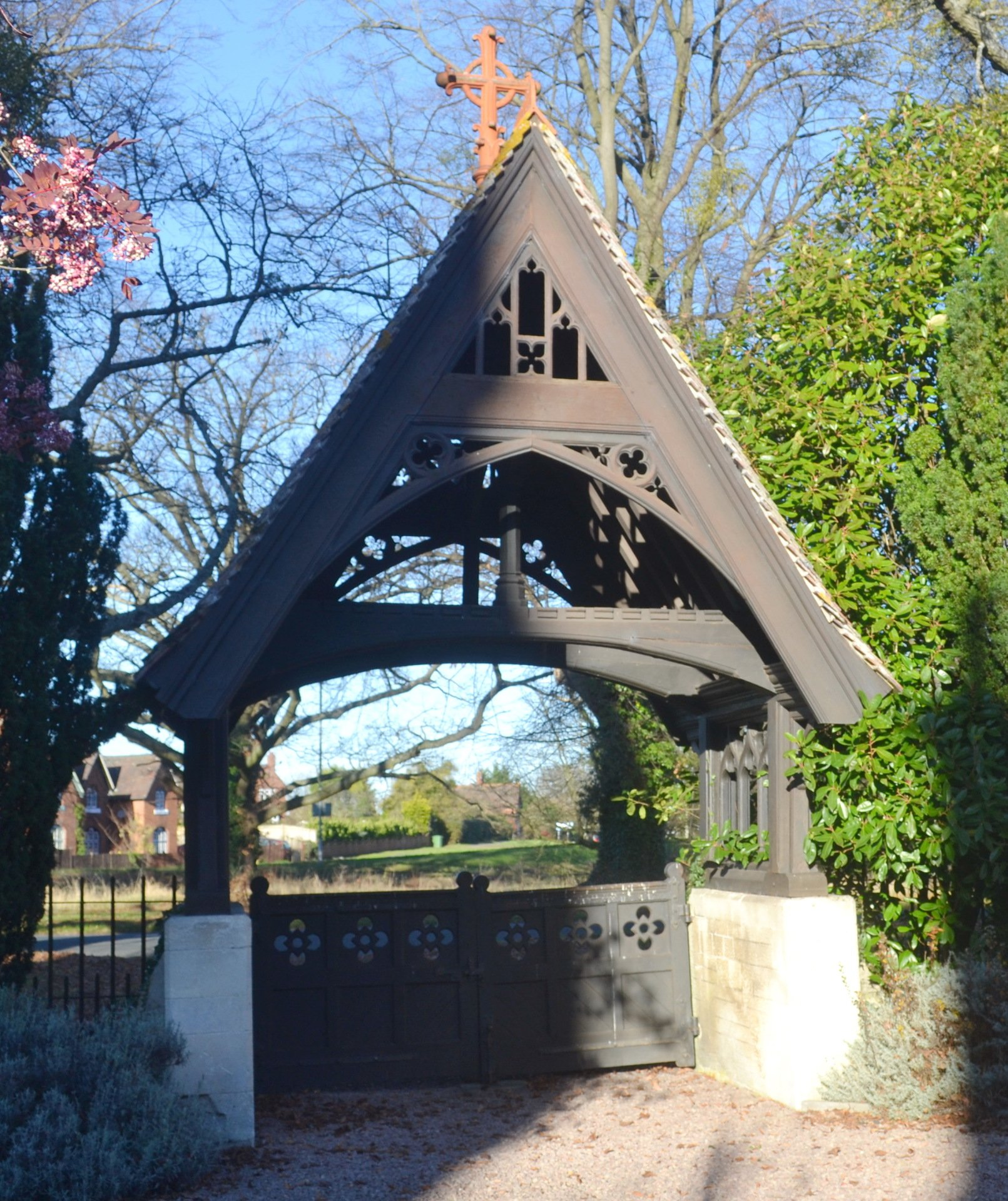 Lychgate from the church